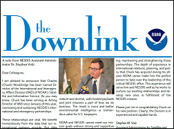 The Downlink, NOAA Satellite and Information Service International and Interagency Affairs Division's Newsletter